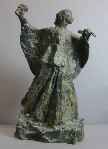 Femme sculpteur au travail d'Antoine Bourdelle